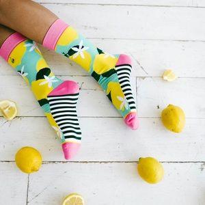 🆕 Pink Lemonade Crew Socks